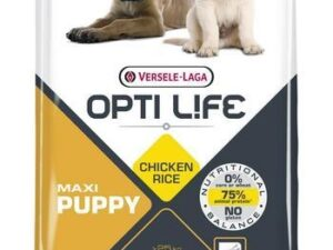 Opti Life PUPPY MAXI giver din hvalp alle de nødvendige næringsstoffer for en afbalanceret og sund vækst. Det indeholder 85% animalsk protein.